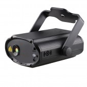Remote RG 8 Patterns Mini Laser Light Projector DJ Disco Party Holiday Xmas Dance Sound Activated Stage Lighting Effect