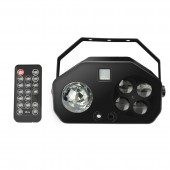 Remote RGB 4 IN 1 LED Gobo Strobe Magic Ball Laser Project DMX Stage Lighting Effect DJ Disco Party Holiday Wedding Light