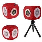 RGB Rechargeable Wireless Bluetooth Speaker Laser Projector Stage Lighting Effect For Party Outdoor DJ Disco Holiday Xmas