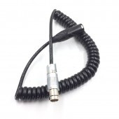 ARRI ALEXA 65/XT Camera power cable,Fischer 2pin famale to XLR 3Pin Male Power Cable For ARRI ALEXA XT/SXT/ALEXA 65 Camera