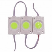 2017 New 10Pcs 2.4W Ultra Bright COB LED Module Light Pure/Warm White Strip Light Lamp Bead Chip Diy DC 12V Lighting Waterproof