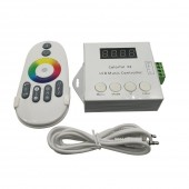 Colorful X2 Music Controller RF Touch Remote For WS2812B WS2811/WS2813/USC1903 Magic LED Digital Tape Max 1000pixels DC5V-24V