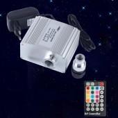 Bluetooth Control Twinkle 10W Fiber Optic Light Engine RF controller LED Lights Source