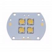 CREE MTG Warm White 2700K 4 LEDS 12V Or 24V 96W High Power Led Emitter Bulb Lamp Light MT-G Copper PCB Board For floodlight