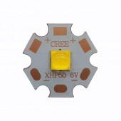 Cree XHP50 XHP50.2 6V 12V 6500K Cool White 5000K Neutral White 3000K Warm White LED Emitter 2546lm 19W on 16mm 20mm Copper PCB