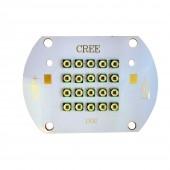 Cree XPE 30W 60W Photo Red 660nm Far Red 730nm 10D 20D 24-26V XP-E LED Bulb Cooper PCB
