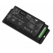 D4-XE 4 Channel PWM Constant Voltage DMX Decoder With Digital Display DC12-36V