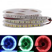 DC 12V 24V 5M 600 LED 5050 Sttrip LED Flexible LED Tape Rope Light 120 LED/M