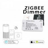 DC12-24V ZLL ZIGBEE Bridge Smart Home Led Dimmer Strip Controller Zigbee Dimmer APP Control Work Amazon Alexa Echo,Phillips