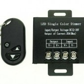 DC12-24V 20A LED Dimmer Controller With Wirelss RF Remote Control