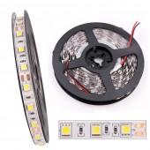 DC12V 5M LED Strip 5050 RGB RGBW RGBWW 60LEDs/m Flexible Light 5050 LED Strip