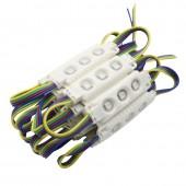 Injection LED Module Light Waterproof SMD 5050 12V 3 Led 30PCS