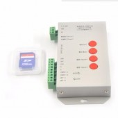 DC 5V-24V T1000S SD Card LED Pixel Controller Support DMX512
