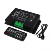 5V-36V 3 Channles 8A/CH Multifunctional LED IR Remote RGB Controller