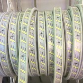 Waterproof Led Strip 220V 2835 SMD 180Leds/m Three Row Flexible Tape Light