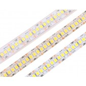 LED Strip Light Tape 2835 3528 SMD 240LEDs/M DC12V Waterproof IP67 IP65 Flexible Warm White/White