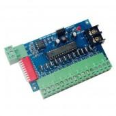 Easy 12channel DMX512 RGB Controller 4groups 12CH Decoder WS-DMX-12CH-XB22