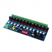 WS-DMX-HVDIM-12CH DMX512 Silicon Controlled Dimming Switch Digital Board