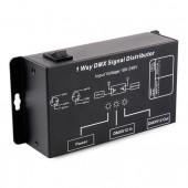 DMX121 AC100-240V DMX Signal Distributor Adapter LED DMX512 Controller