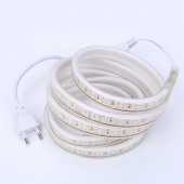Double Row Led strip 220V 240v 2835 SMD 180Leds/m Waterproof Flexible Tape Lights