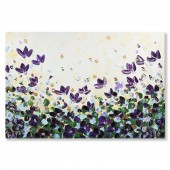 3D Knife Palette Floral Modern Thick Texture Flowers Oil Painting 100% Hand-painted 24 x 36 Inch