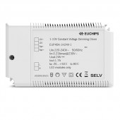 40W 24VDC 1.7A*1ch CV 1-10V Driver EUP40A-1H24V-1 Euchips Constant Voltage Dimmable Driver