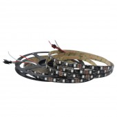 5M 48LEDs/M 5050 RGB WS2811 Dream Color LED Strip Light DC 12V 1 Ic Control 3 LEDS