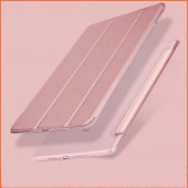 For iPad 2018 Case 9.7 Air 2 Funda Ultra Slim PU Leather PC Hard Back Stand Case for iPad 6th Generation iPad Air 2 Air 1 Case