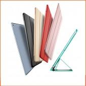 For iPad Pro 10.5 Case 2017 / iPad Air 2019 Case, PU Leather Transparent PC Hard Back Smart Cover for iPad Air 3 Case Funda