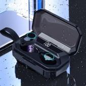 G02 TWS 5.0 Stereo Bluetooth Earphone Wireless Headphones 4000mAh IPX7 Waterproof Bluetooth Earphone Sport Headset Touch