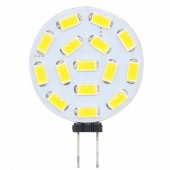 5Pcs G4 LED 5730 SMD 180 Degree 15 LED Car Marine Camper RV Light Lamp Bulb AC/ DC 12V