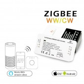 ZIGBEE Bridge Led Controller WW/CW Dimmer Strip Controller DC12/24V Zll Standard Led