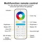 GLEDOPTO Zigbee Smart RGB+CCT LED Controller Plus Working With Echo Plus Zigbee 3.0 Gateway Or Remote Control APP Phone Control