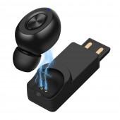 5.0 Headset USB charging Mini Wireless Bluetooth Earphone car sports Wireless Headphones With Mic For iPhone xiaomi