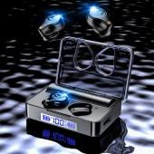 IPX7 Waterproof Bluetooth 5.0 Sport Headphones Wireless Earphone 140 Hours Playtime HiFi Sound Noise Isolating 3600 mAH