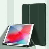 For iPad Mini 5 Case iPad Mini 2019 Case with Pencil Holder Tri-fold Stand Soft TPU Back for iPad Mini5 Case Cover Funda Capa