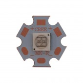 10W 7070 45MIL Ultra Violet UV 365nm or 395nm-400nm 3.8-4.2V 2.4A High Power Led Light Epileds Chip On 20MM Copper PCB Board