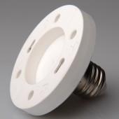 5pcs E27 to GX53 Lamp Base Conversion Socket Resistance PC E27 Socket