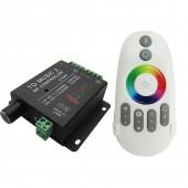 TQ MUSIC 2 RGB Music Controller DC12-24V 18A RF Wilress Intelligent Sonic Sensitivity Led Backlight For 3528 5050 RGB Led light