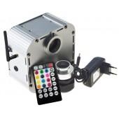 APP RF Sound control Microphone Fiber optic light engine project for 24V DC star ceiling hobby meeting sensory curtain