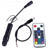 2W DC12V RGB 18key RF remote car use home use car light car bulb side glow fiber optic light illuminator engine