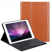 PU Leather Keyboard Case For iPad 9.7 2018 2017 / iPad Air 2 1 Silicone Soft Cover Multiple Folio Stand for iPad 2018 Case 9.7""