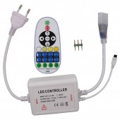Color Temperature LED Controller 110V 220V IR Remote Control CW/WW CT Adjustment LED Dimmer 3PIN Connector