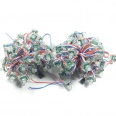 2000pcs DC5V 12mm WS2811 Square Pixel Module Diffused Digital WS2811 Full Color RGB LED String IP68 Waterproof