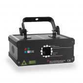 500MW 1W RGB Full Color Animation Laser Projector DMX Beam Scanner DJ Disco Party Holiday Bar Xmas Stage Lighting Effect