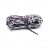 100Meters/lot 5 Pin RGBW wire cable 5 Channels RGBW LED Strip wire Extension Extend Cable Wire Cord Connector For RGBW