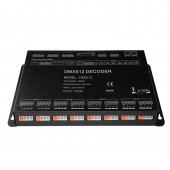 12-24V 12CH Multi-Channel RGB DMX512 Decoder Controller