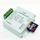 Mini SD Card RGB Pixel Controller WS2811 WS2812B LPD6803 Full Color Controller DC 12-24V / DC 5V