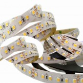 DC 24V CCT 2in1 Led Strip Light 5050 3527 120leds/M CW/WW Two Color Temperature Adjustable Led Strip Dimmable Tape 5M