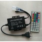 T220V 110V 44Key IR Remote RGB LED Controller Dimmer 1500W US Plug / EU Plug